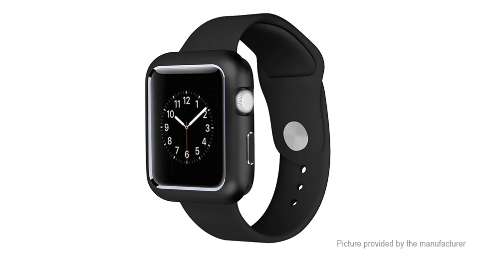 ... Authentic hoco Aluminum Alloy Protective Case Cover for Apple Watch Series 2/3 42mm ...