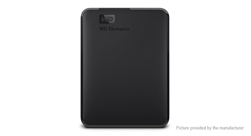 "Authentic WD Elements Portable 2.5"" USB 3.0 Hard Drive External HDD (1TB)"