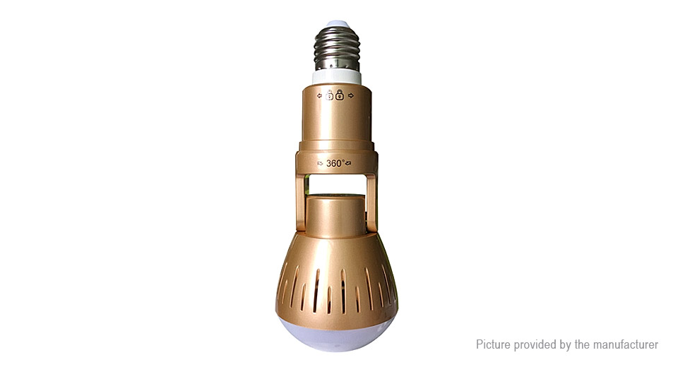 Product Image: 2-in-1-e27-led-light-bulb-1080p-hd-panorama-wifi