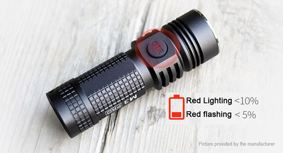ON THE ROAD M3 Pro Mini LED Flashlight