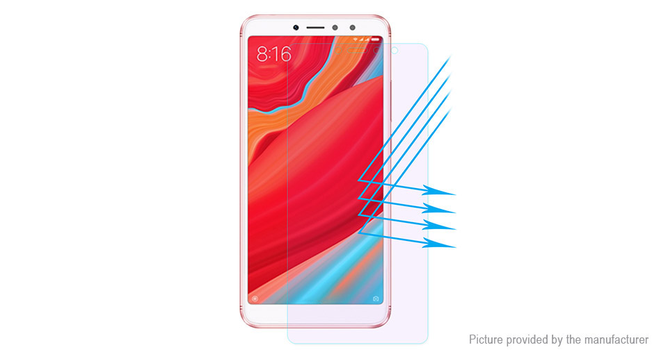 Hat.Prince 2.5D Tempered Glass Screen Protector for Xiaomi Redmi S2