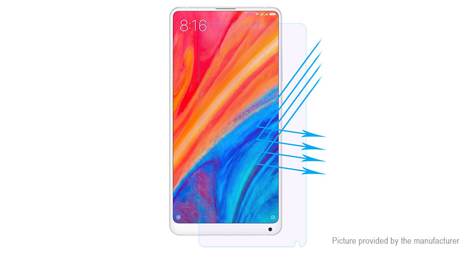 Hat.Prince 2.5D Tempered Glass Screen Protector for Xiaomi Mi MIX 2/2S