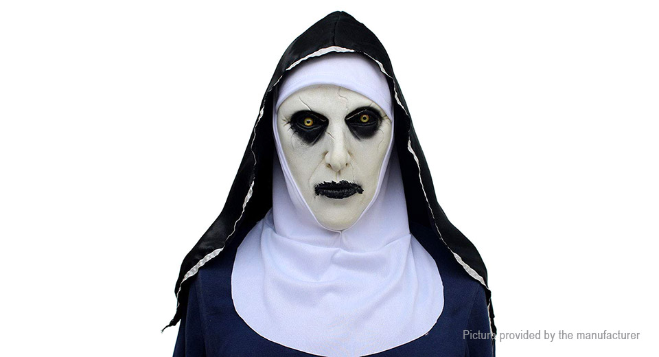 Product Image: the-conjuring-2-horror-nun-styled-latex-full-face