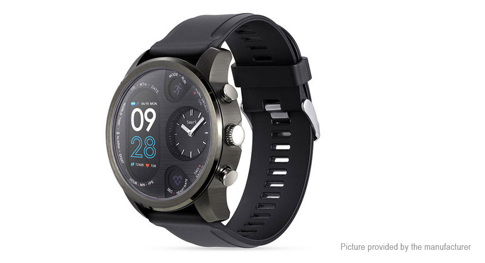 T3 Dual Time Zone Sports Bluetooth V4.0 Smart Watch