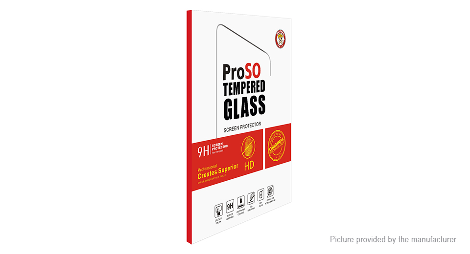 Hat.Prince 2.5D Tempered Glass Screen Protector for Xiaomi Mi Pad 4 Plus