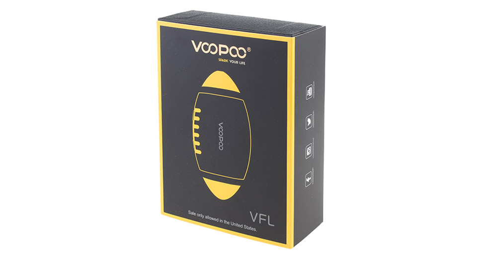 Authentic VOOPOO VFL 650mAh VV APV Pod System Starter Kit