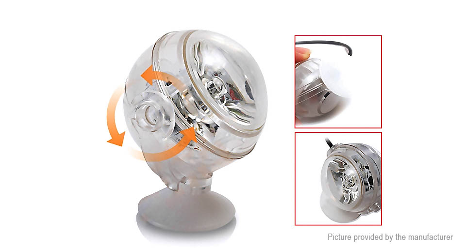 1W Aquarium Fish Tank Submersible LED Light (EU)