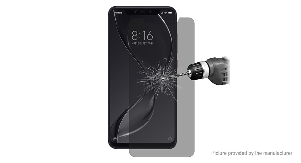 Hat.Prince 2.5D Tempered Glass Screen Protector for Xiaomi Mi 8 Explorer Edition