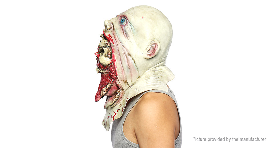 Bloody Zombie Styled Latex Full Face Mask Halloween Masquerade Mask