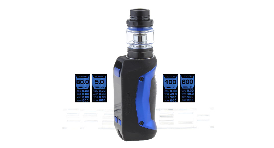Authentic GeekVape Aegis Mini 80W 2200mAh TC VW APV Box Mod Kit (Standard Edition)