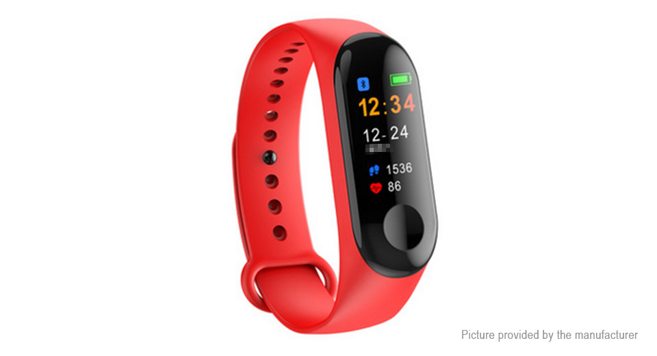 Product Image: m3c-plus-0-96-tft-touch-screen-smart-wristband