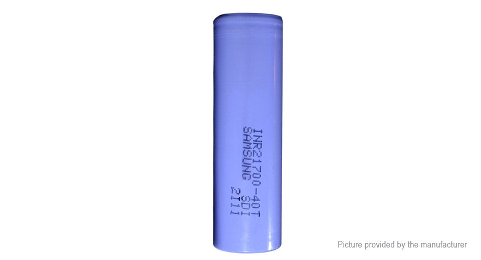 Product Image: inr-21700-40t-3-6v-4000mah-rechargeable-li-ion