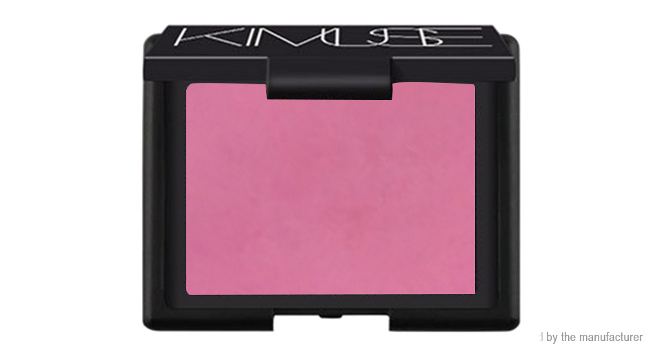 KIMUSE Makeup Single Color Natural Powder Baked Cheek Rouge Blusher