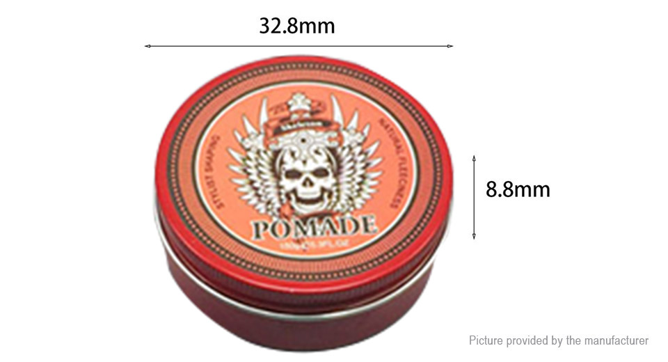 Men Aluminium Box Hair Pomade Hair Styling Wax (150g)