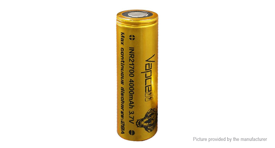 Product Image: vapcell-inr-21700-3-6v-4000mah-rechargeable-li