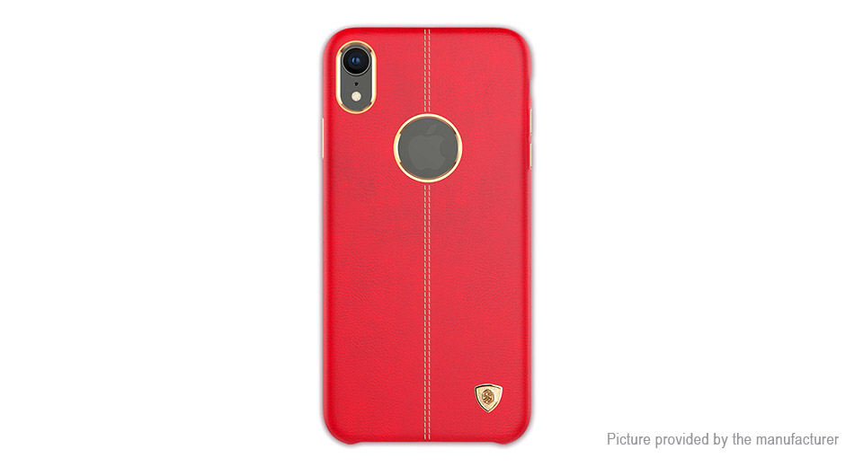 Nillkin Englon Series Leather Protective Back Case Cover for iPhone XR
