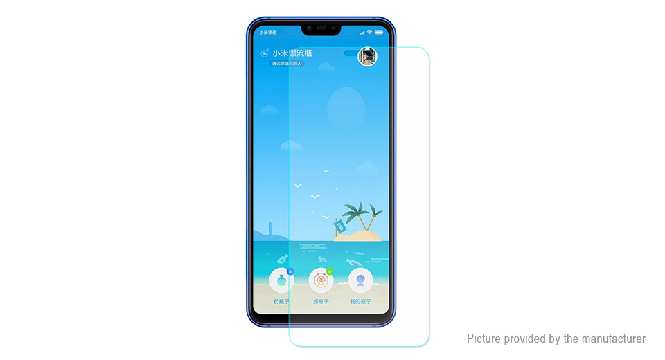 Hat.Prince 2.5D Tempered Glass Screen Protector for Xiaomi Mi 8 Youth Edition