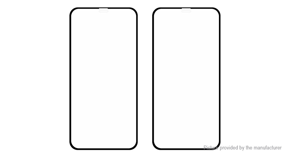 Hat.Prince 2.5D Tempered Glass Screen Protector for iPhone XS/X (2-Pack)