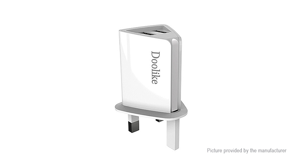 Product Image: doolike-ch25-dual-usb-wall-charger-power-adapter