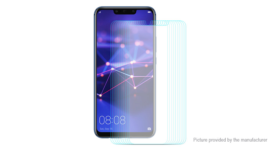 Hat.Prince 2.5D Tempered Glass Screen Protector for Huawei Mate 20 Lite (10-Pack)