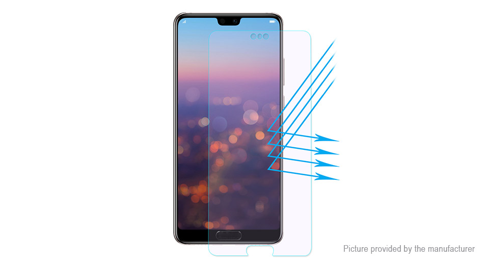 Hat.Prince 2.5D Tempered Glass Screen Protector for Huawei P20 Pro