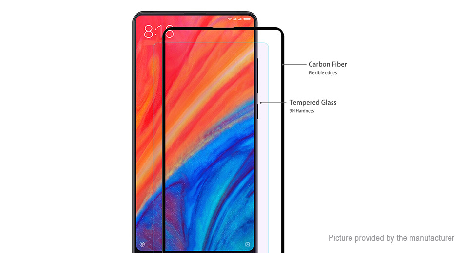 Hat.Prince 3D Tempered Glass Screen Protector for Xiaomi Mi MIX 2/2S
