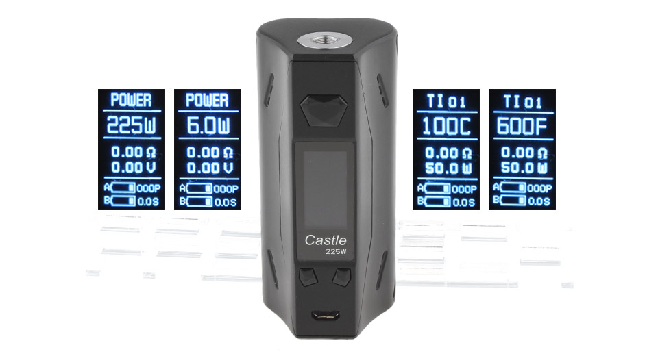 Product Image: atvs-castle-225w-vw-tc-apv-box-mod