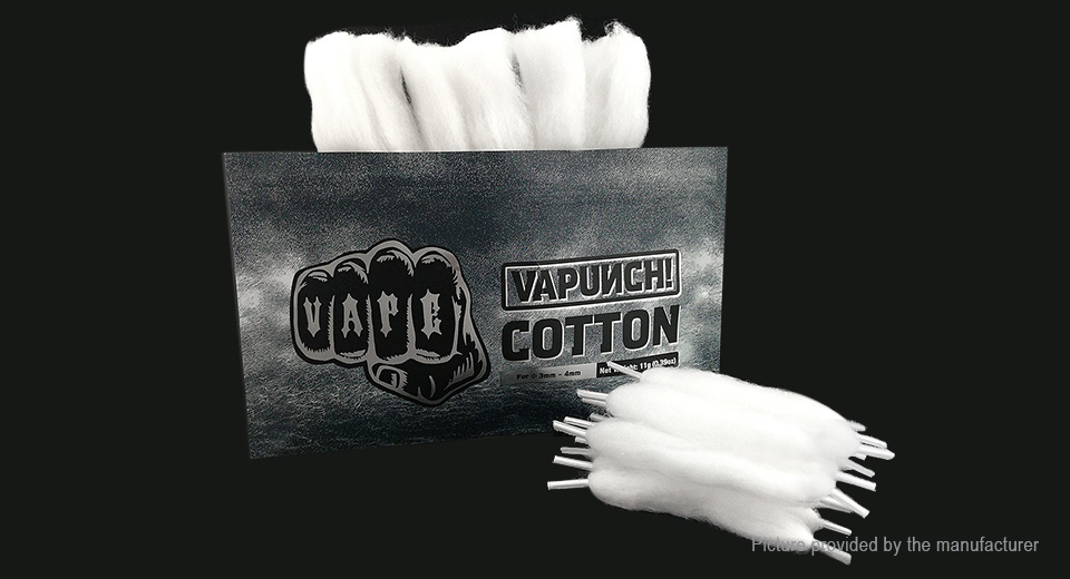 Product Image: vapunch-cotton-wick-for-e-cigarettes
