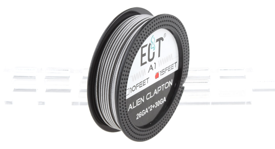 Product Image: authentic-ect-kanthal-a1-alien-clapton-heating