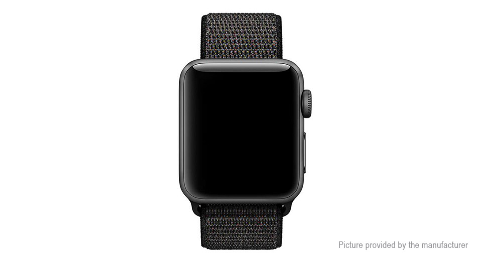 Replacement Nylon Loop Watch Band Strap for Apple Watch 42mm