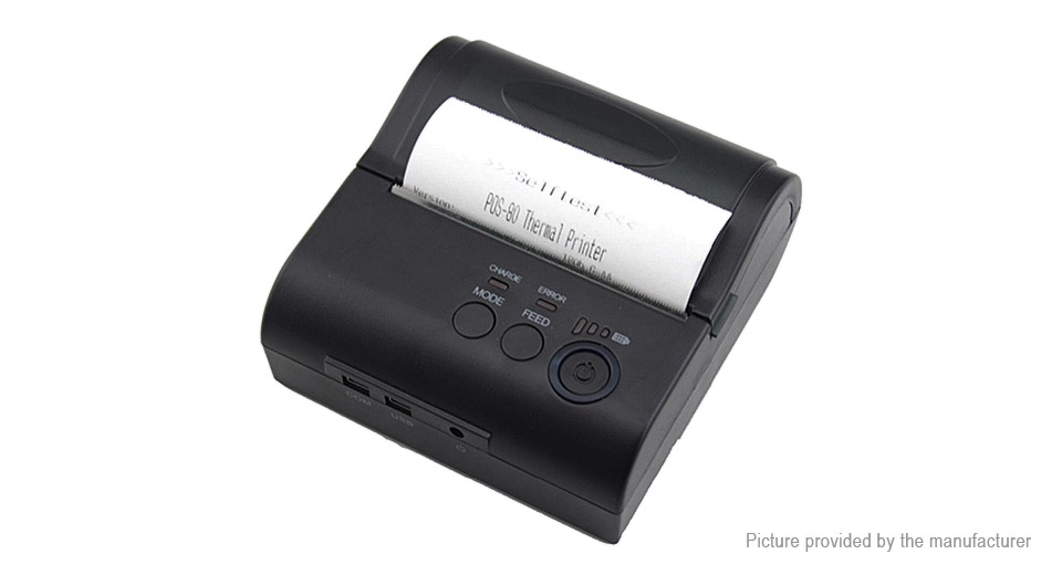 Zjiang ZJ-8001LD Bluetooth POS Receipt Thermal Printer (EU)