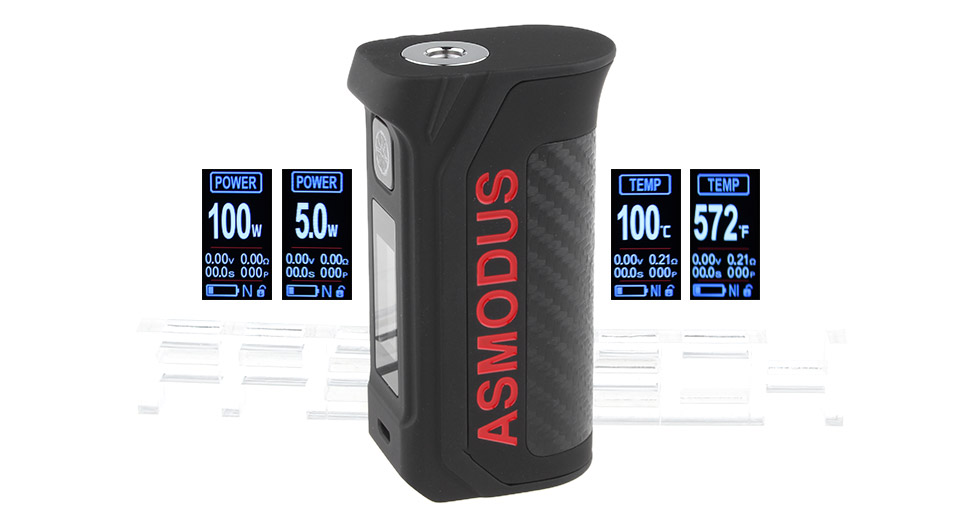 Product Image: authentic-asmodus-amighty-100w-tc-vw-apv-box-mod