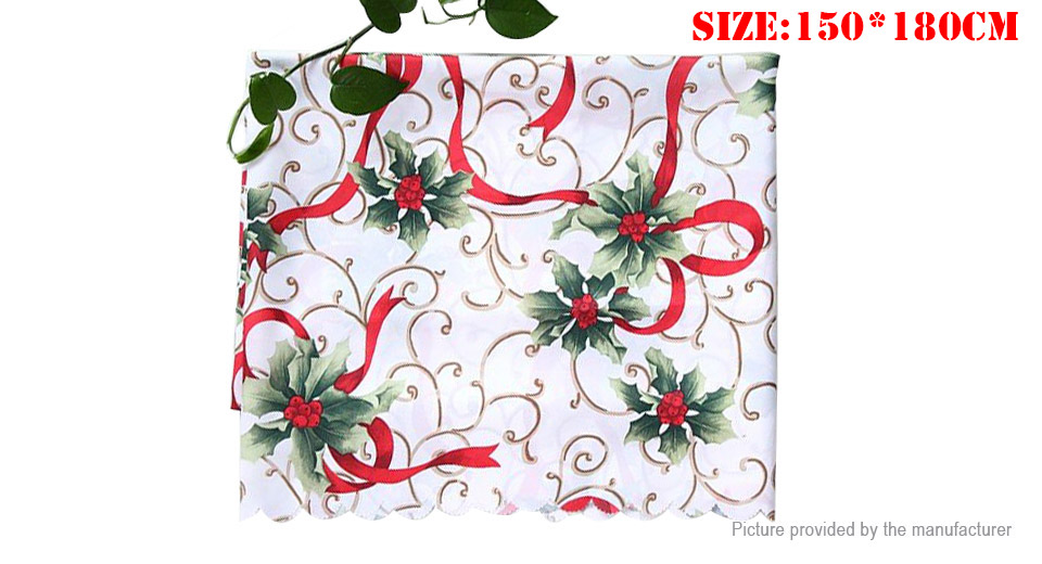 Product Image: christmas-tablecloth-cotton-tableware-mat-table