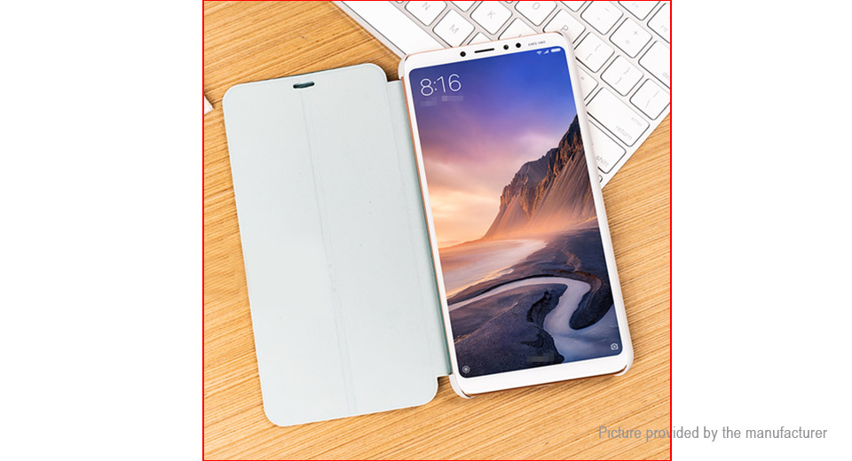 Authentic Xiaomi Flip-open Protective Stand Case Cover for Xiaomi Mi Max 3