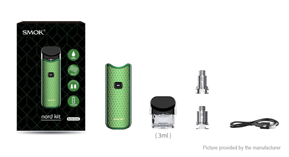 Authentic Smoktech SMOK Nord 1100mAh Pod System Starter Kit (Standard Edition)