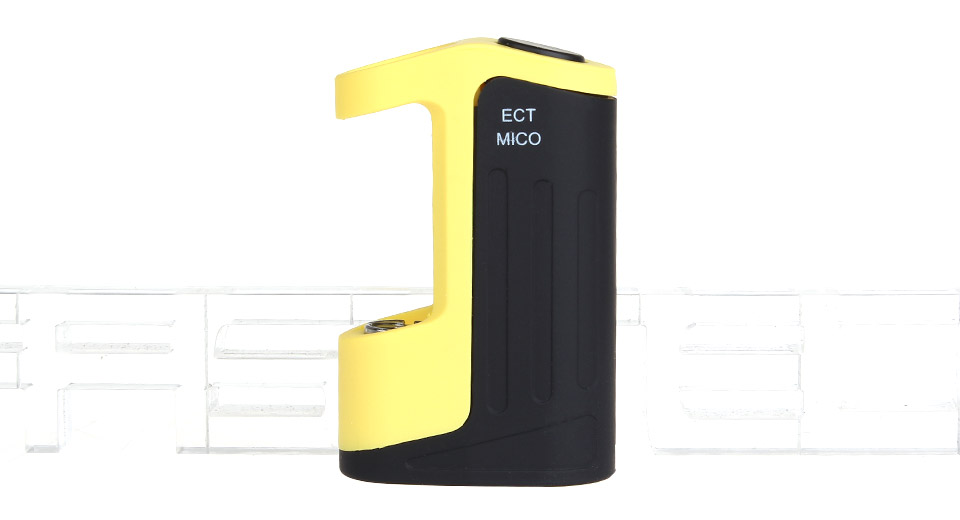 $5 73 Authentic ECT Mico 350mAh VV E-Cigarette Battery - 3 3V/3 6V/3 9V /  PC + ABS at FastTech - Worldwide Free Shipping