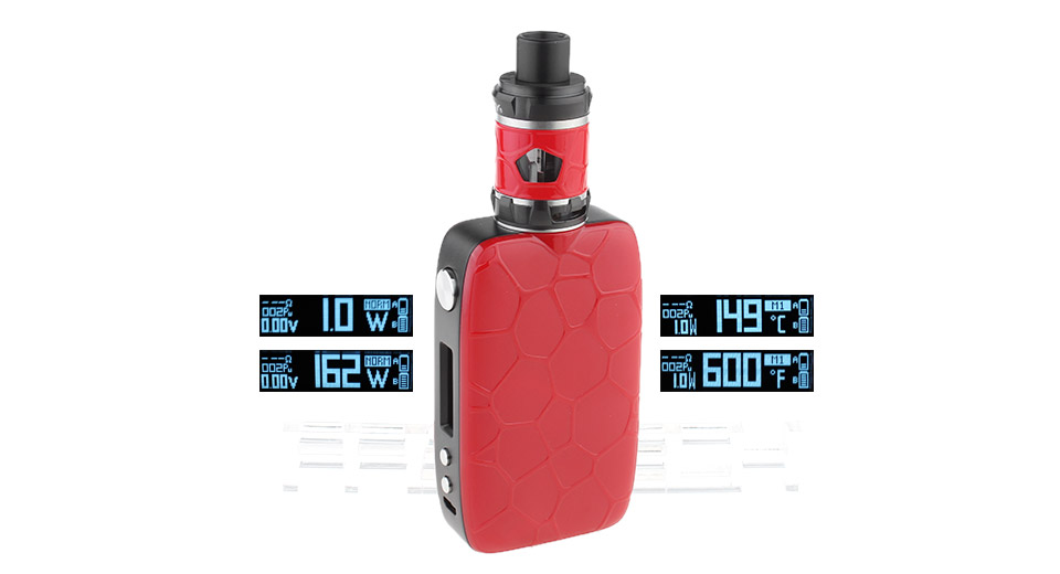 $30.27 Authentic IJOY Mystique 162W TC VW APV Box Mod Kit - 3.5/5ml / 0.18/0.2ohm / 2*18650 at FastTech - Great Gadgets, Great Prices