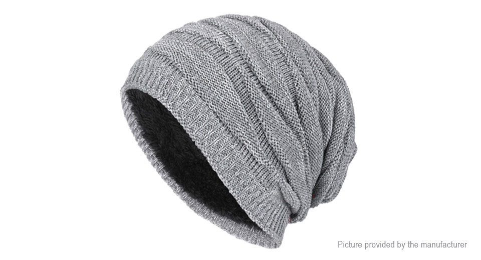 Product Image: men-s-plus-velvet-winter-warm-knitted-sports-hat