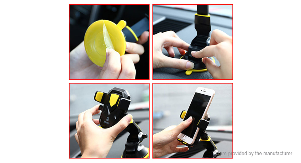 Authentic REMAX RM-C26 Transformer Car Suction Cup Mount Phone Holder Stand