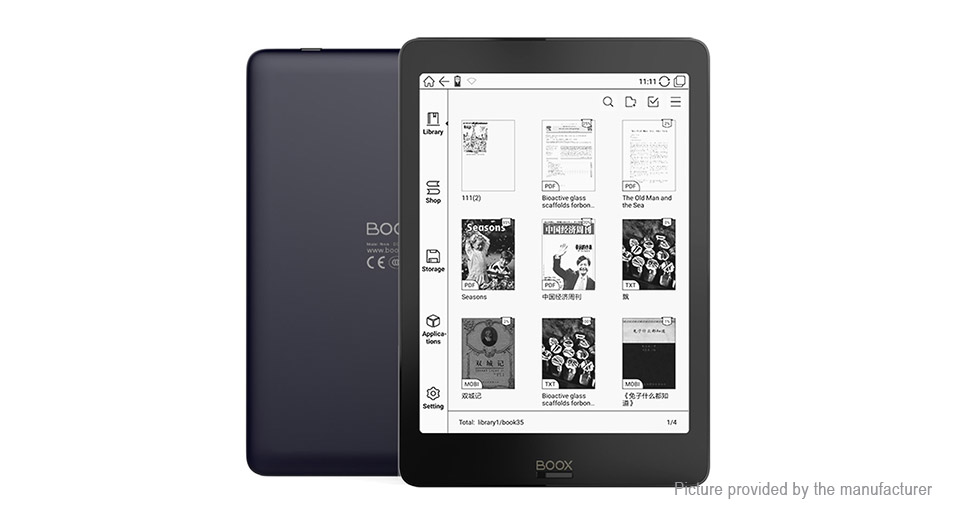 ONYX BOOX nova 7.8'' Carta E-ink Touch Screen E-book Reader (32GB)