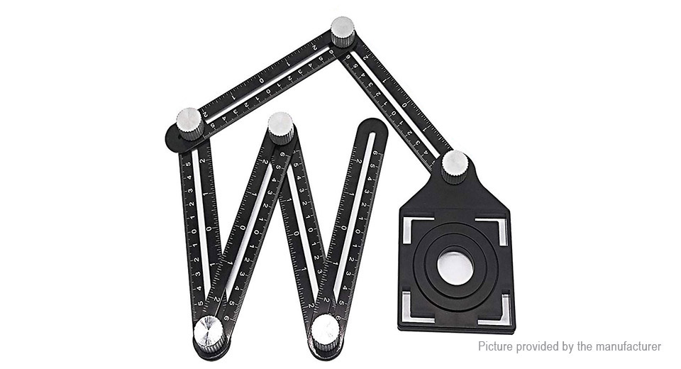 Product Image: aluminum-alloy-six-section-folding-measuring-rule