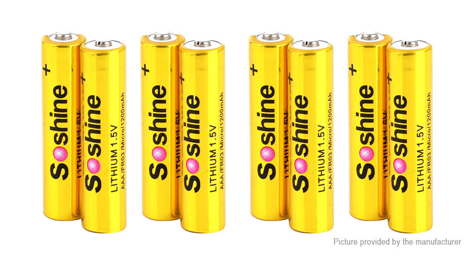 Product Image: authentic-soshine-aaa-1-5v-1200mah-lithium