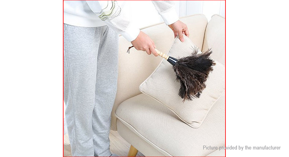 Soft Ostrich Feather Home Duster Cleaning Tool
