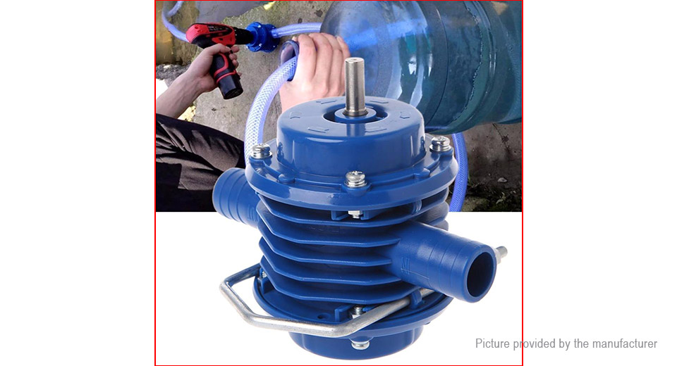 Electric Hand Drill Self-priming Water Pump