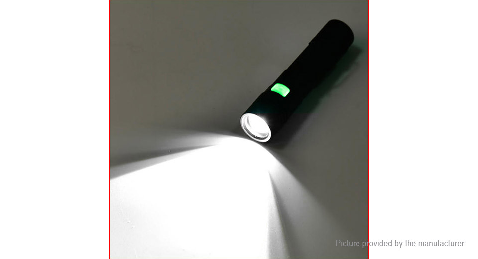 Yunmai 1301 LED Flashlight w/ Focus Zoom