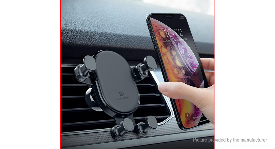 Authentic Floveme Car Air Vent Mount Gravity Linkage Cell Phone Holder Stand