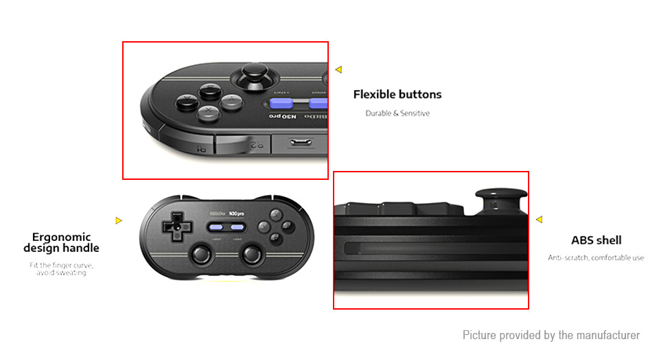 8Bitdo N30 Pro 2 Bluetooth V4.0 Retro Game Controller / Gamepad