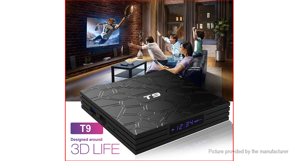 T9 Quad-Core Oreo TV Box (64GB/EU)