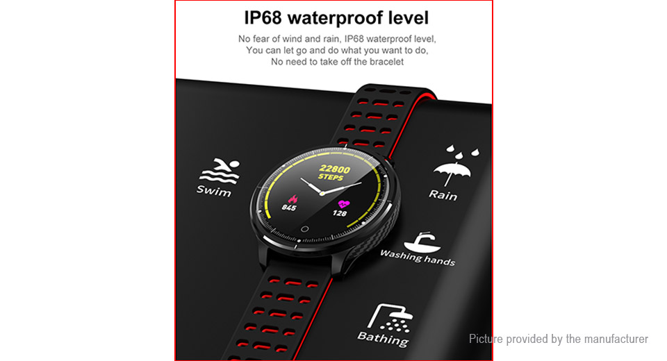 "P71 1.3"" Touch Screen Sports Smart Bracelet Wristband"