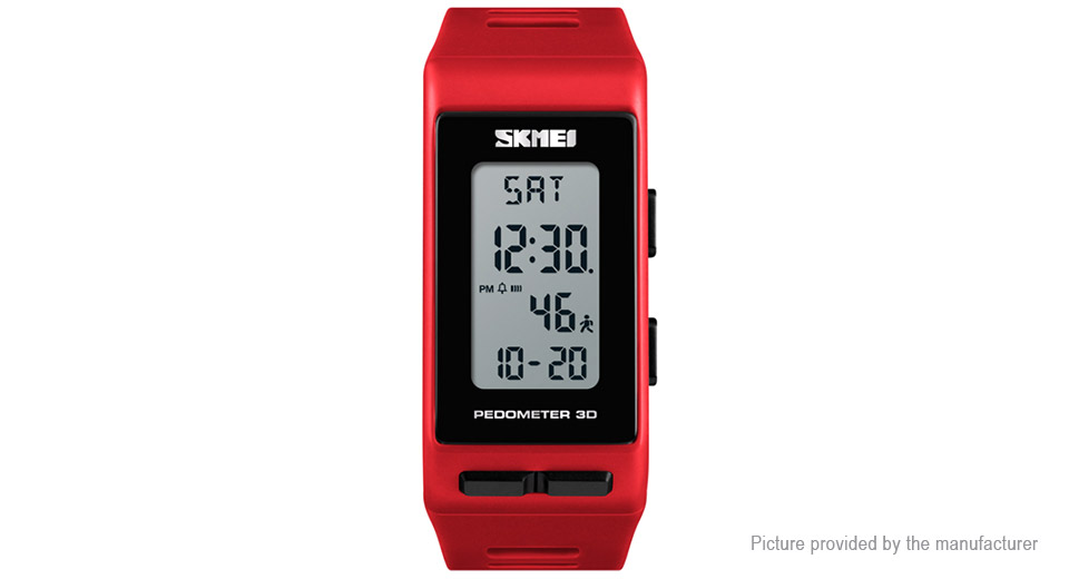 Authentic Skmei 1363 Unisex PU Band Sports Digital Wrist Watch